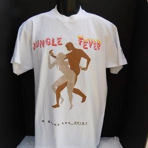 Rare Vintage 90's Spike Lee Jungle Fever Crew TEE